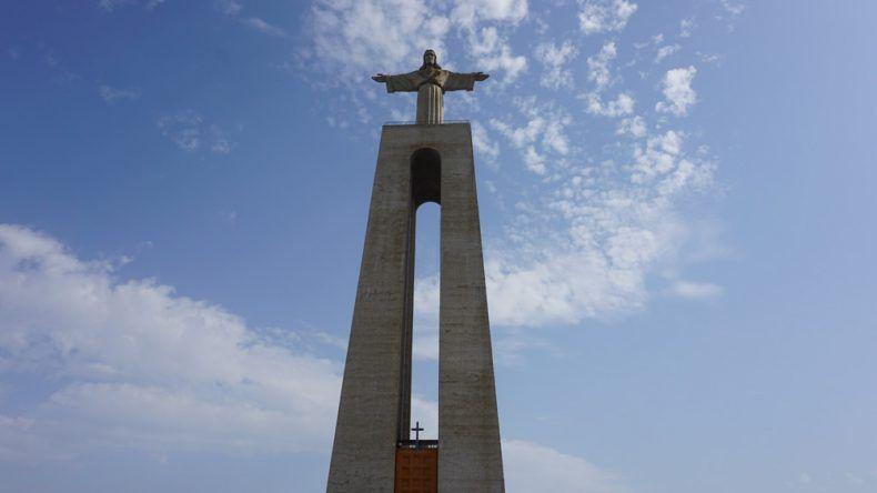 Cristo Rei in Almada Portugal