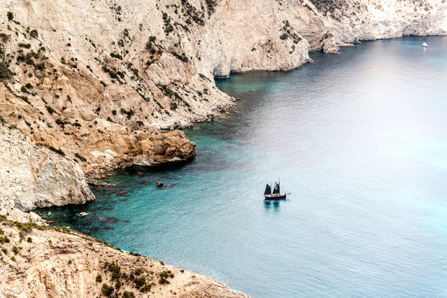 Es Vedra Ibiza Piratenschiff