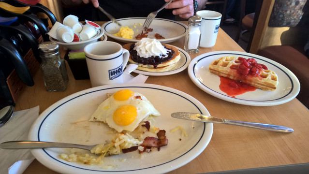 Frühstück IHOP Florida
