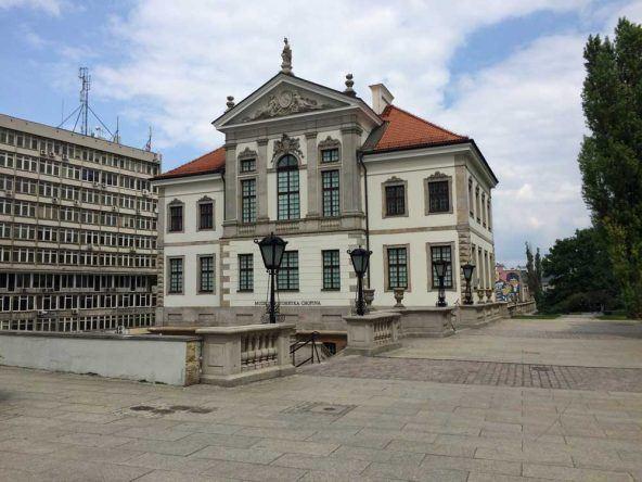 Ein schönes Gebäude: Das Fryderyk Chopin Museum