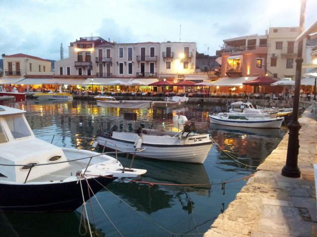 Hafen Rethymnon Kreta