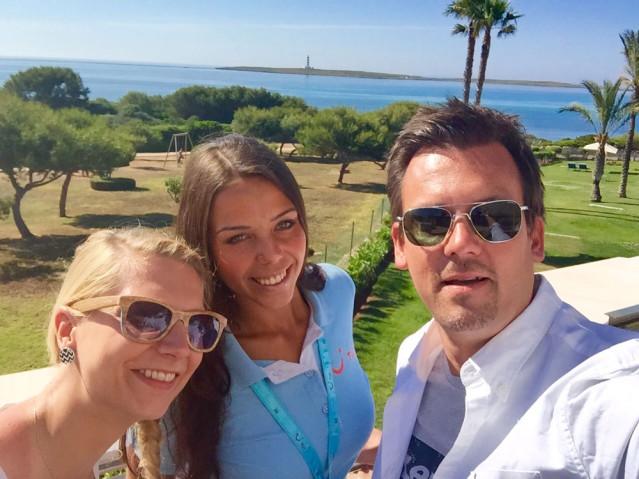 Jana, Stephan und ich in der Selfie-Time :)