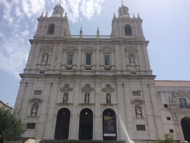 Das Kloster Sao Vicente de Fora