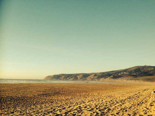Der Praia do Guincho in Lissabon