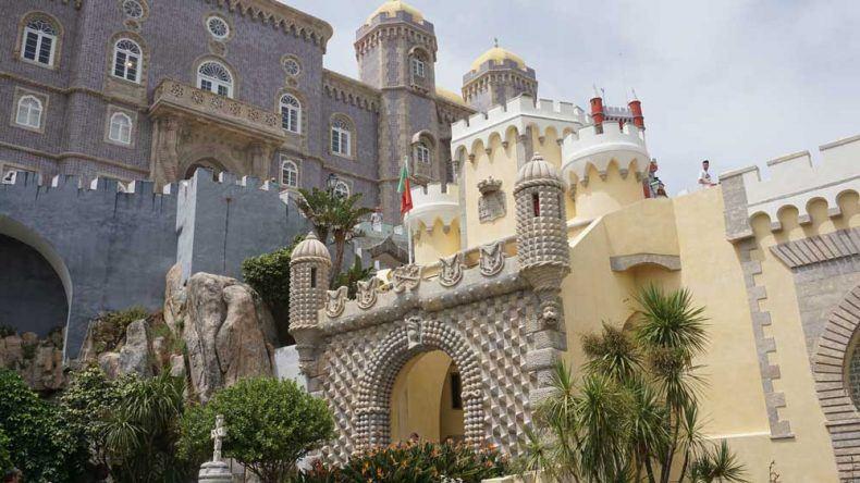 Nationalpalast Pena: Das portugiesische Neuschwanstein befindet sich in Sintra