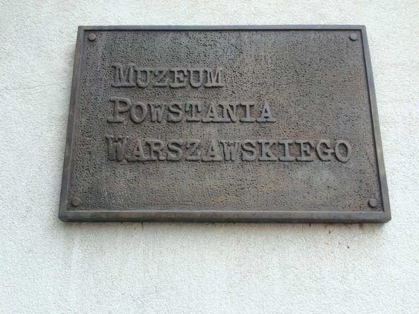 Museum des Warschauer Aufstandes in polnischer Sprache