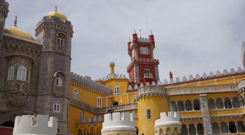 Wie im Märchen: Das Palácio Nacional da Pena in Sintra
