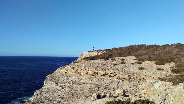 Portinatx Ibiza Leuchtturm