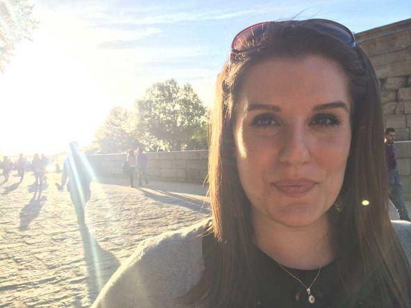 Ein Spaziergang bei Sonnenschein im Retiro Park