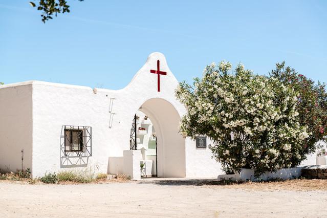 Santa Eulalia Ibiza Friedhofsmauer