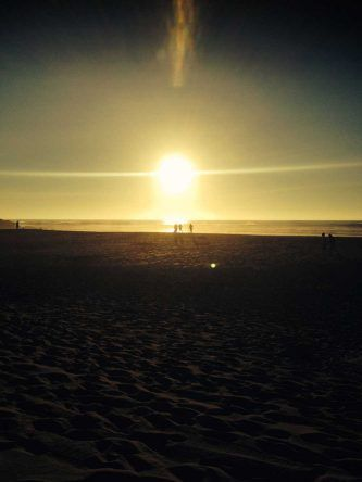 Am Guincho Strand fotografierst du einfach die schönsten Sonnenuntergänge