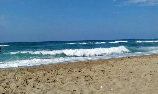 Strand von Rethymnon
