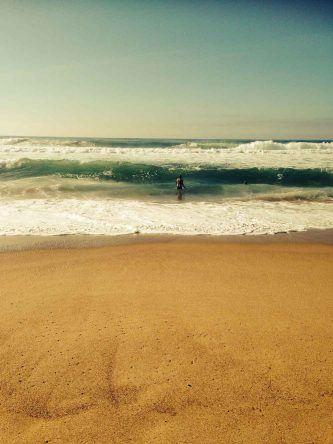 Zu den besten Surfspots Portguals gehört definitiv der Guincho Beach bei Lissabon