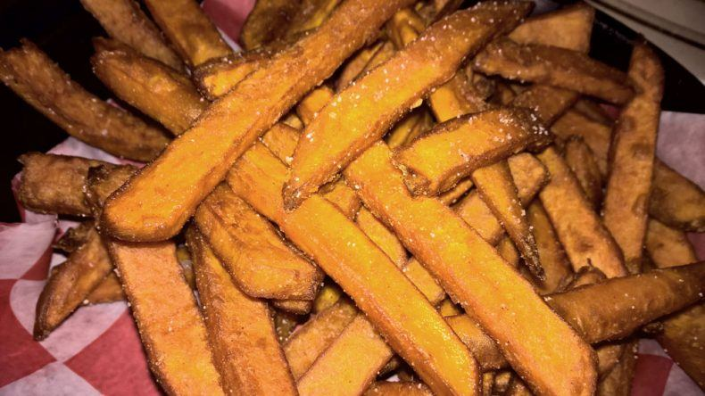 Sweet Potatoes Fritten