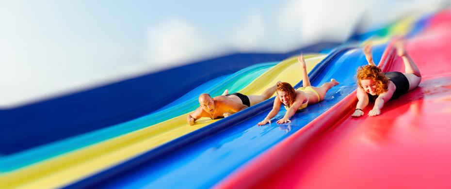 Die Top 5 Hotels mit Aquapark - Wilde Wasserrutschen