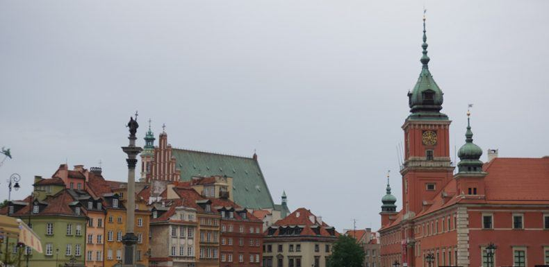 Die Warschauer Altstadt