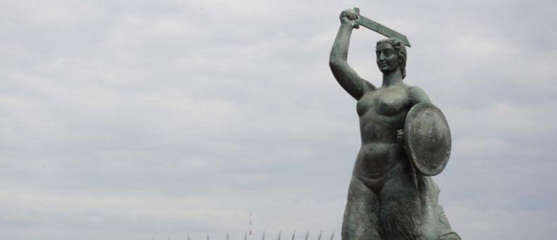 Die Warschauer Seejungfer ist gleichzeitig das Stadtwappen