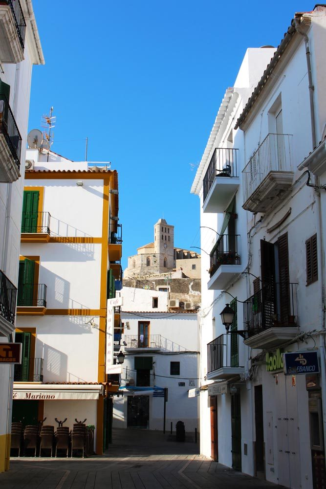 Blick auf die Kathedrale Nostra Senyora de las Neus