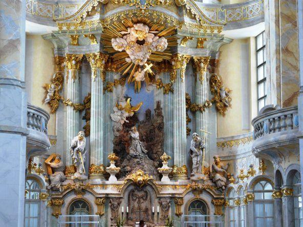 Der Altar der Frauenkirche