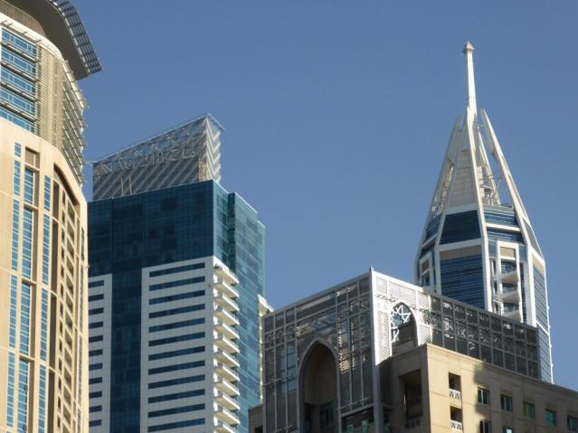 Dubai Hochhäuser