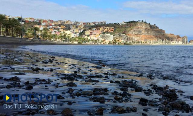 La Gomera San Sebastian Strand