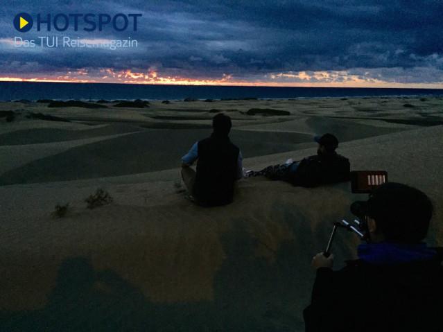Sonnenaufgang Maspalomas Gran Canaria