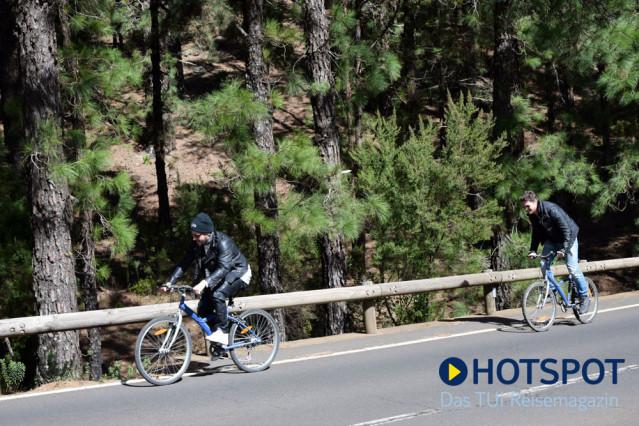Manuel Cortez und Sebastian Deyle Fahrrad