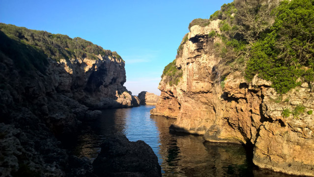 Menorca Bucht The Beach