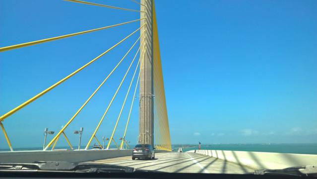 Sunshine Skyway Bridge Florida