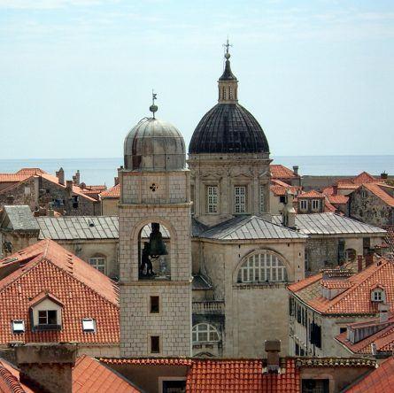 Kathedrale Uhrenturm Dubrovnik