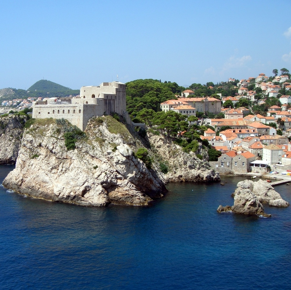Dubrovnik Stadtmauer Hafen