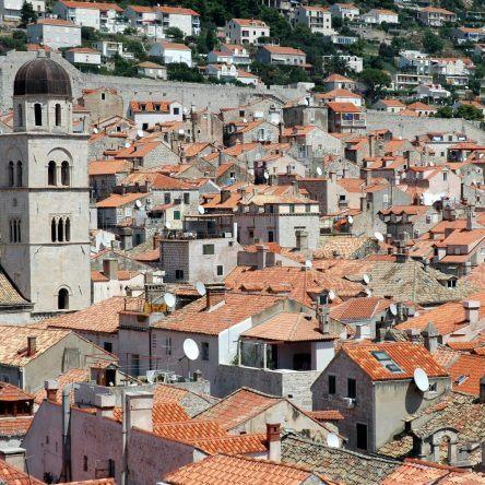 Dächer Dubrovnik