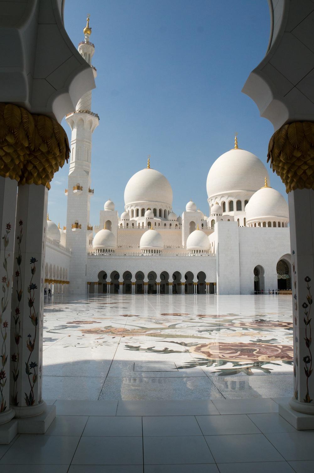Sheikh Zayed Bin Sultan Al Nahyan Moschee