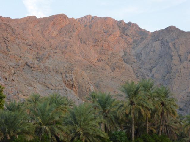 Bergmassiv im Oman