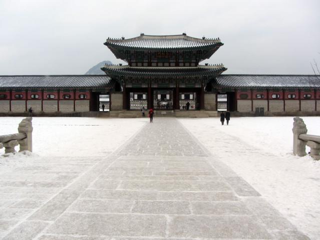 Seoul im Winter