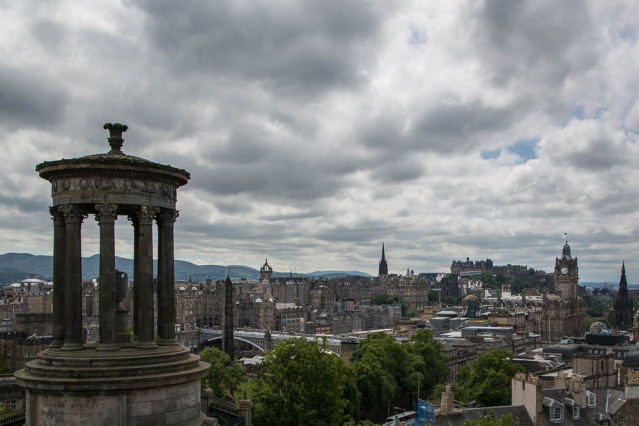 Edinburgh vom Calton Hill
