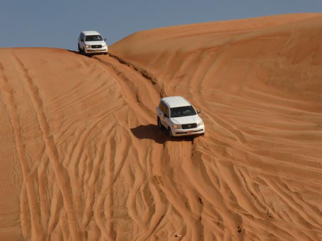 Wüstenfahrt im Oman