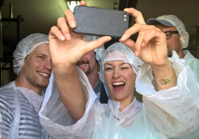 Selfie-Time mit Annica und Raúl