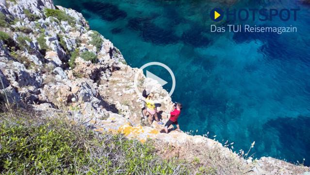 ► Jetzt einschalten bei HOTSPOT Menorca mit Annica Hansen und Raúl Richter