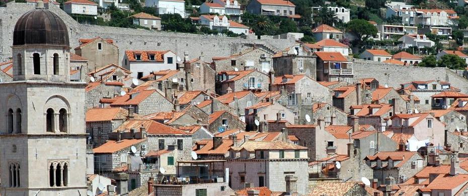Dubrovnik Häuser