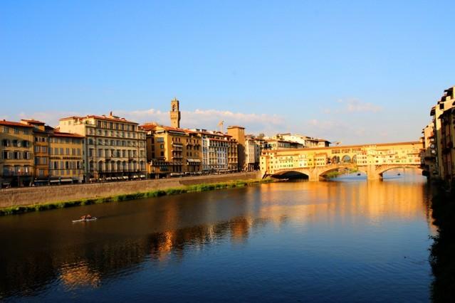 Ponte Vecchio - heute ein Eldorado für alle, die gerne Schmuck shoppen.