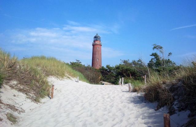 Weststrand Leuchtturm