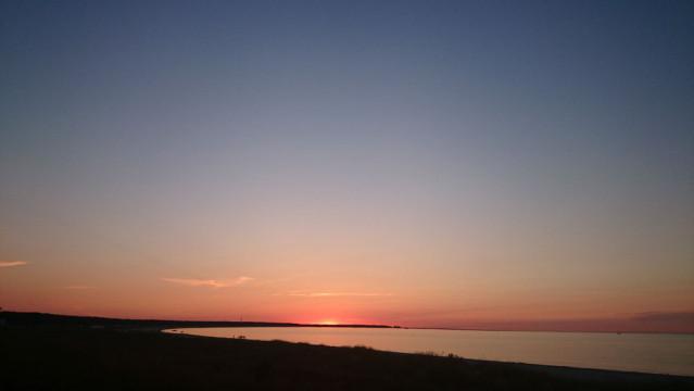 Sonnenuntergang Prerow Ostsee