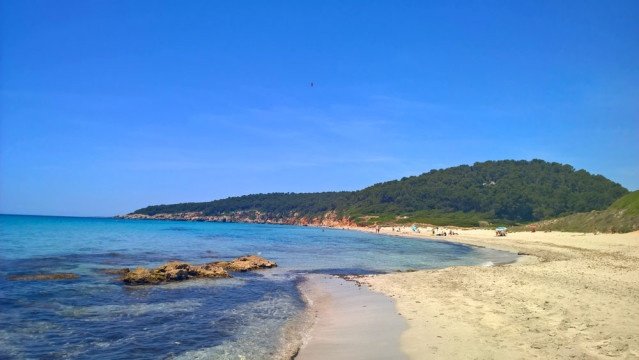 Platja de San Adeodat Menorca Strand