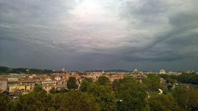 Ausblick auf Rom