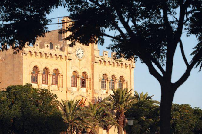 Ciutadella Menorca Castillo
