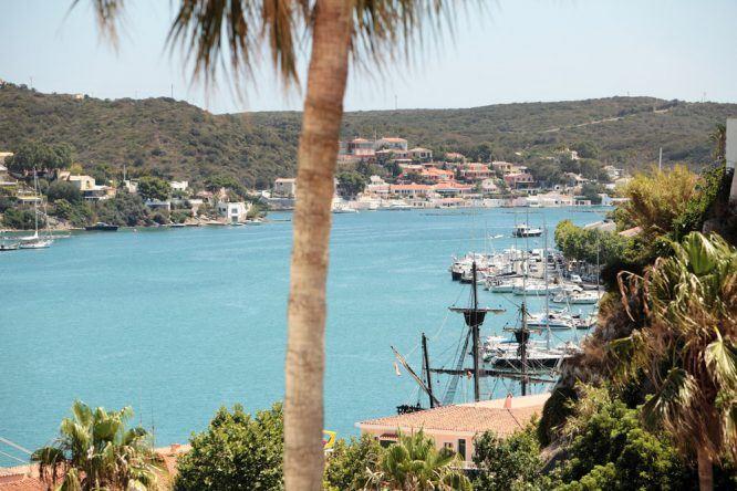 Mahón Menorca Hafen