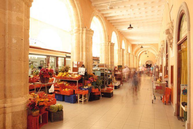 Mahón Menorca Markthalle