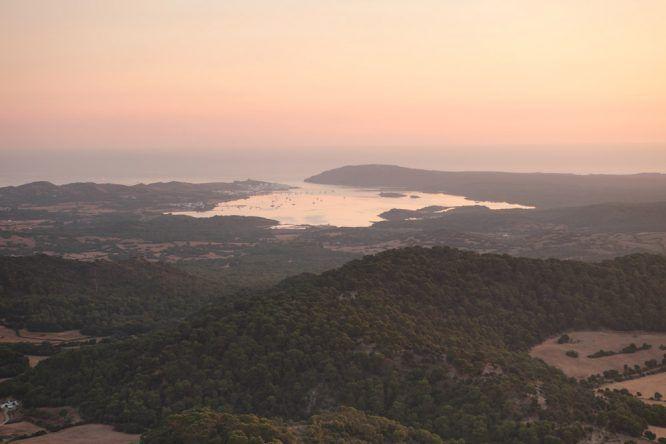 Menorca Ausblick Monte Toro