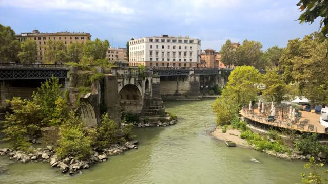 Tiber Rom